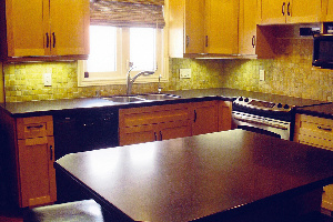 Countertop and kitchen islands